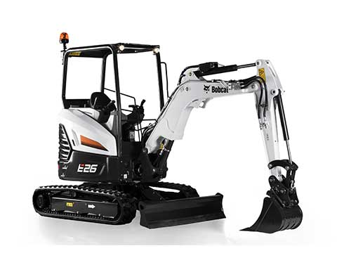 Rent earthmoving equipment in Tampa Bay