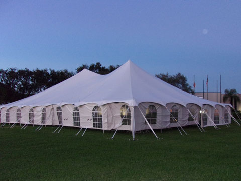 Tents for rent in the Tampa area