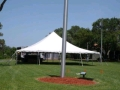Rental store for 40 x40  BRILLIANT WHITE pole tent in Tampa Bay FL