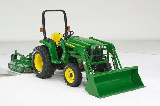 John Deere 3032e Tractor W Loader 4 W D Rentals New Port