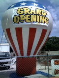Rental store for ADVERTISING BALLOON 22  HIGH in Tampa Bay FL