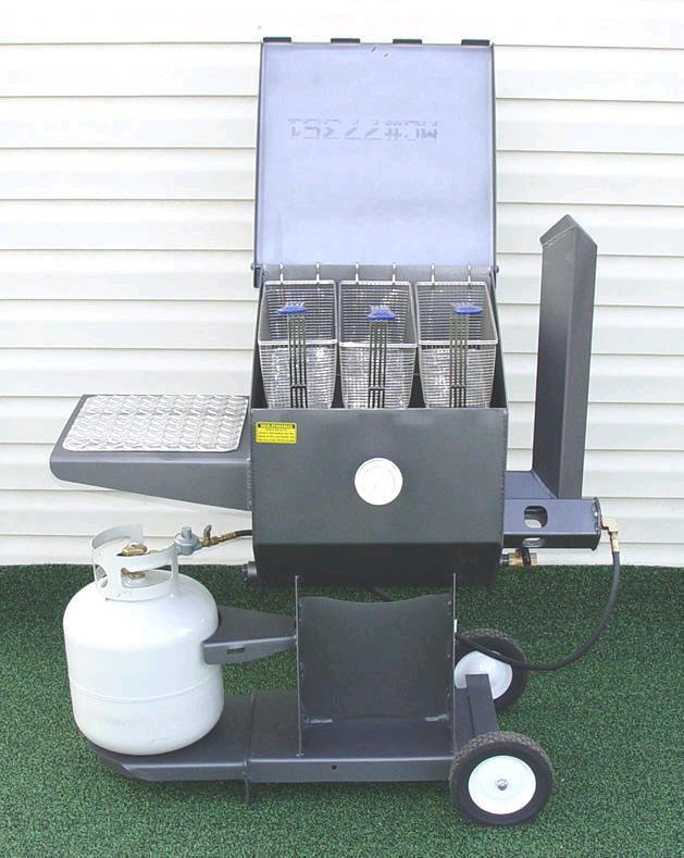 Where to find Deep Fryer Outdoor, 3 basket 8.5 gallon in New Port Richey
