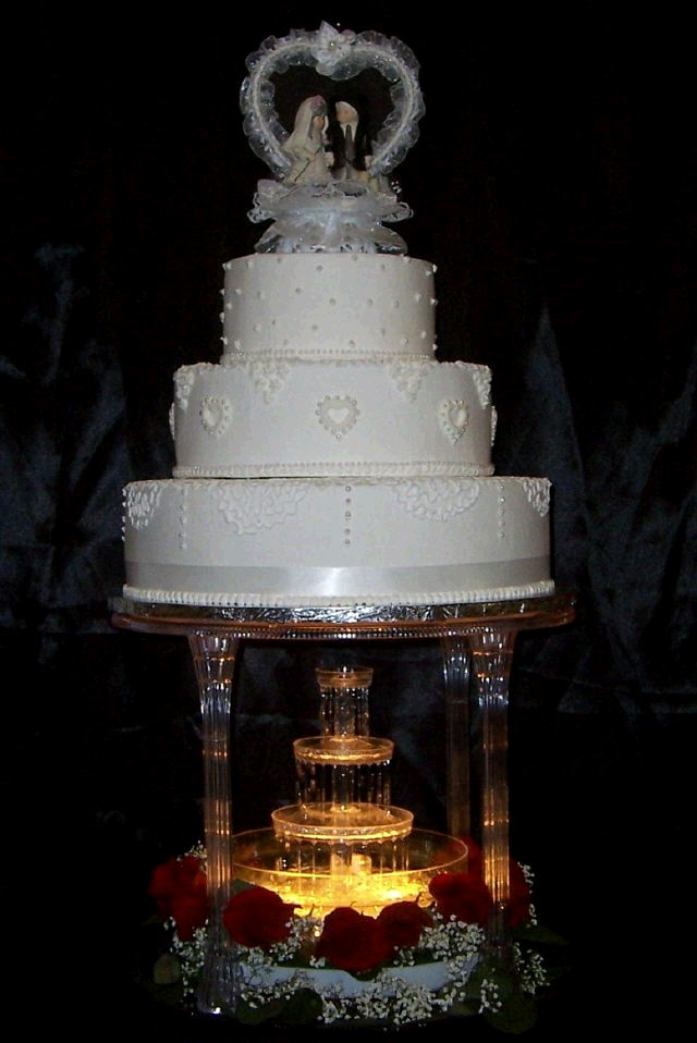 cake fountain 3 tier rentals tampa bay fl where to rent
