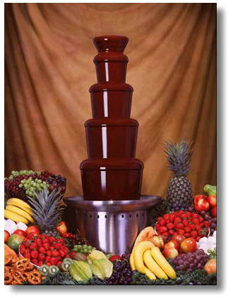 Where to find CHOCOLATE FOUNTAIN Multi-Tier in Tampa Bay