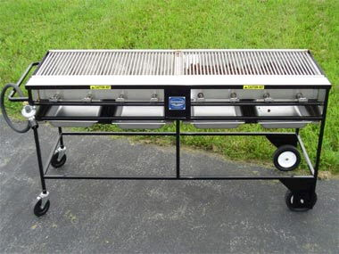 Where to find GRILL,Country Club S.S.-2 X6  1-40lbTANK in New Port Richey