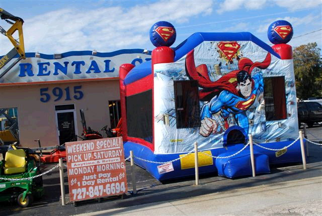 Where to find SUPERMAN 4 IN 1  SLIDE   COMBO in New Port Richey