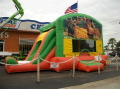 Where to rent Jungle Book Castle Combo with Slide in New Port Richey FL