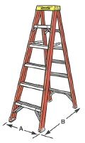 Where to rent LADDER, STEP 10  FIBERGLASS in New Port Richey FL