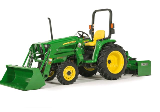 Where to find John Deere 3032E TRACTOR W LOADER 4 w.d. in Tampa Bay