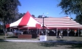 Rental store for 20 x20  Red   White Hi-Peak in Tampa Bay FL