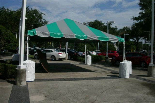 Where to find 20 x20  Teal   Gray Frame tent in New Port Richey