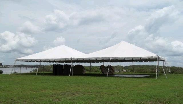 Where to find 30 x60  White Tent in New Port Richey