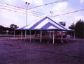 Where to rent 30 x30  Blue White pole tent in New Port Richey FL