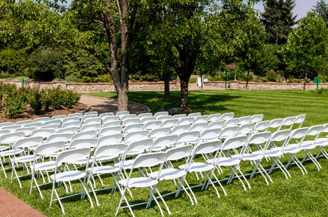 Where to find CHAIR,WHITE Outdoor Event  Poly   Metal in New Port Richey