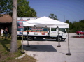 Rental store for 10 x10  White frame tent in Tampa Bay FL
