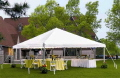 Rental store for 15 x15  White frame tent in Tampa Bay FL
