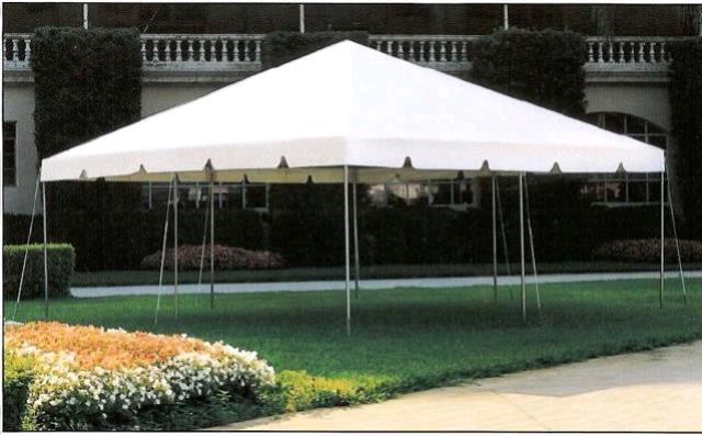 20 Foot X20 Foot White Frame Tent A Rentals Tampa Bay Fl