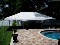 Rental store for 20 x30  White frame tent A in Tampa Bay FL