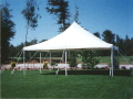 Rental store for 20 X20  Tent customer set up in Tampa Bay FL