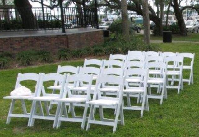 Where to find SITE SETUP   TEAR DOWN CHAIRS in Tampa Bay