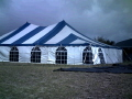 Rental store for 40 x60  Blue White pole tent in Tampa Bay FL
