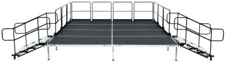 Where to find STAGE Event Stage Risers  4 x8  section in New Port Richey