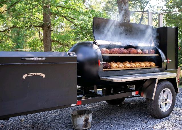 Where to find GRILL, Towable Smoker 16  event in New Port Richey