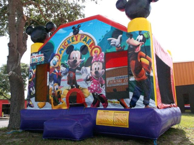 Where to find MOONWALK 14  X 14  MICKEY PARK in New Port Richey