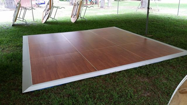 Where to find 12 X12  CHERRYWOOD DANCE FLOOR in New Port Richey