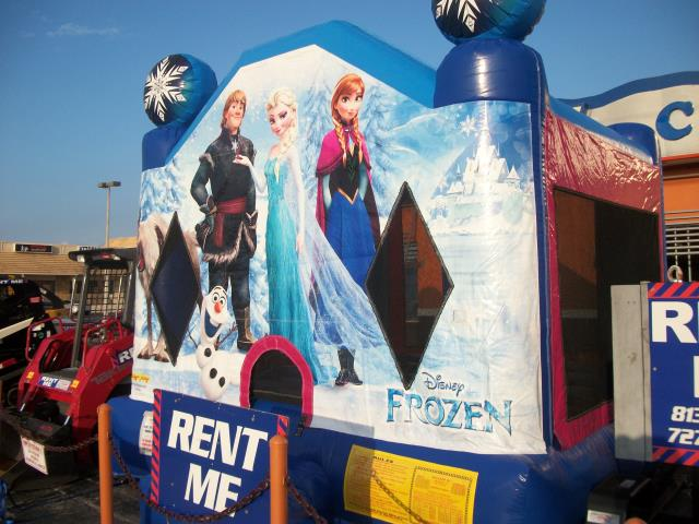 Where to find Disney Frozen Castle Moonwalk in New Port Richey