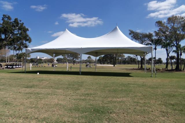 Where to find 20 x40  Hi-Peak White Frame Tent in New Port Richey