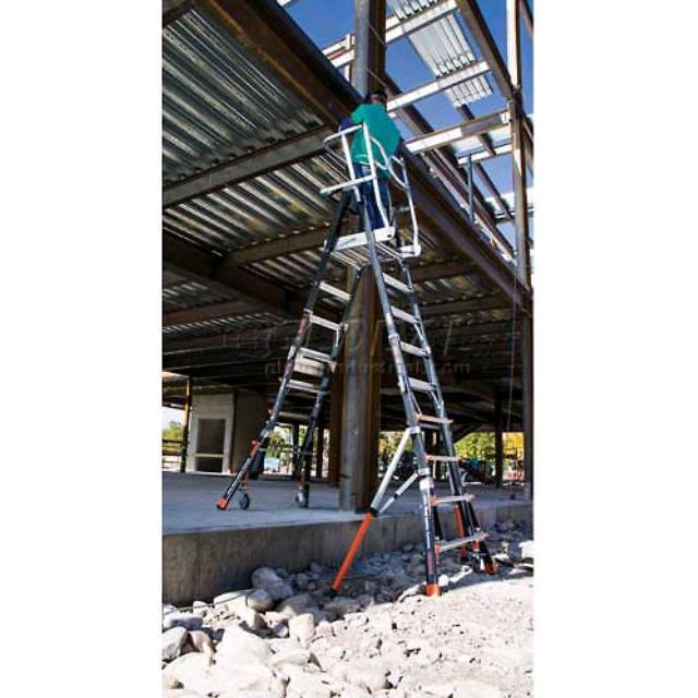 Where to find Platform cage Ladder 19  working height in Tampa Bay