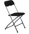 Rental store for CHAIR, BLACK Outdoor Aluma Event in Tampa Bay FL