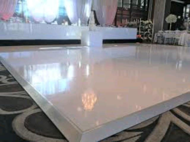 Where to find 12  X 12  WHITE ELEGANT DANCE FLOOR in Tampa Bay