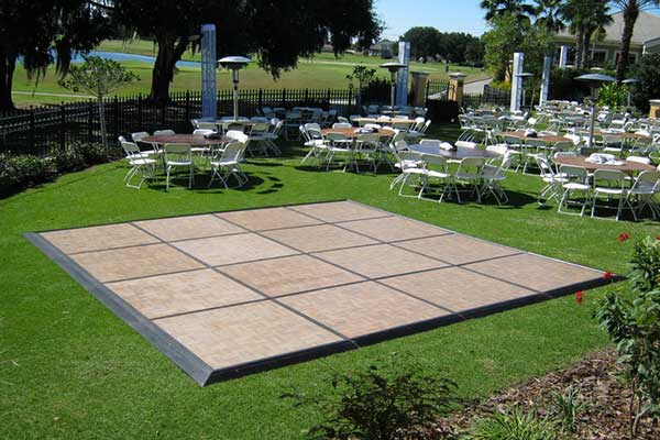 Dance floor rentals in New Port Richey & Tampa FL