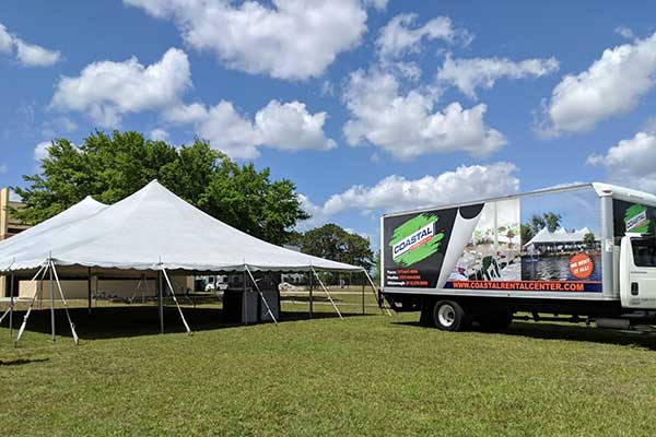 Canopy Tent rentals in New Port Richey & Tampa FL