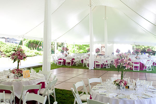 Event rentals in New Port Richey & Tampa FL